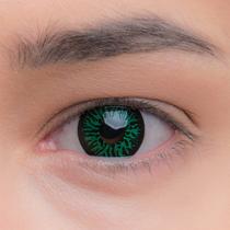 Карнавальные линзы Lensmam Green Goblin