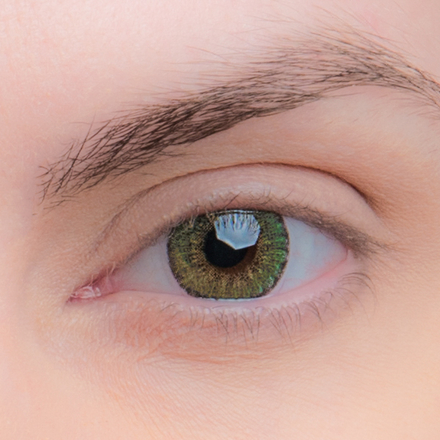 Цветные линзы EOS Briller Green